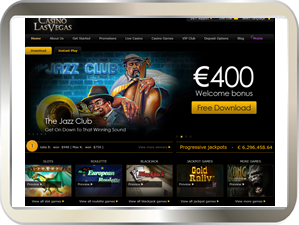 Casino Las Vegaas - Play all your Online Casino Games here