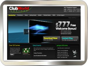 Club world casino instant play